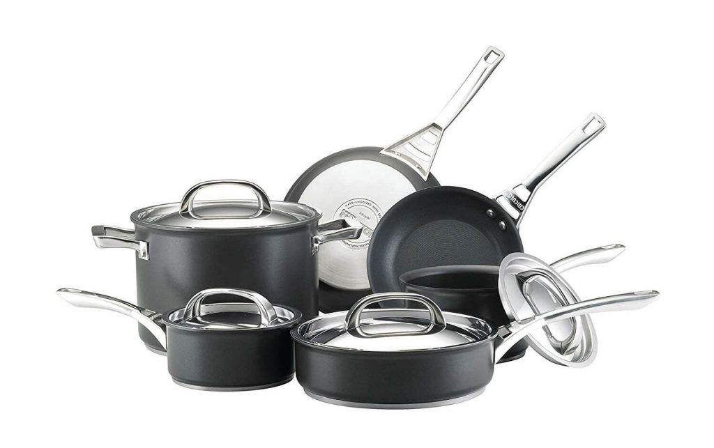 Infinite Circulon Hard Anodized Nonstick Cookware Set