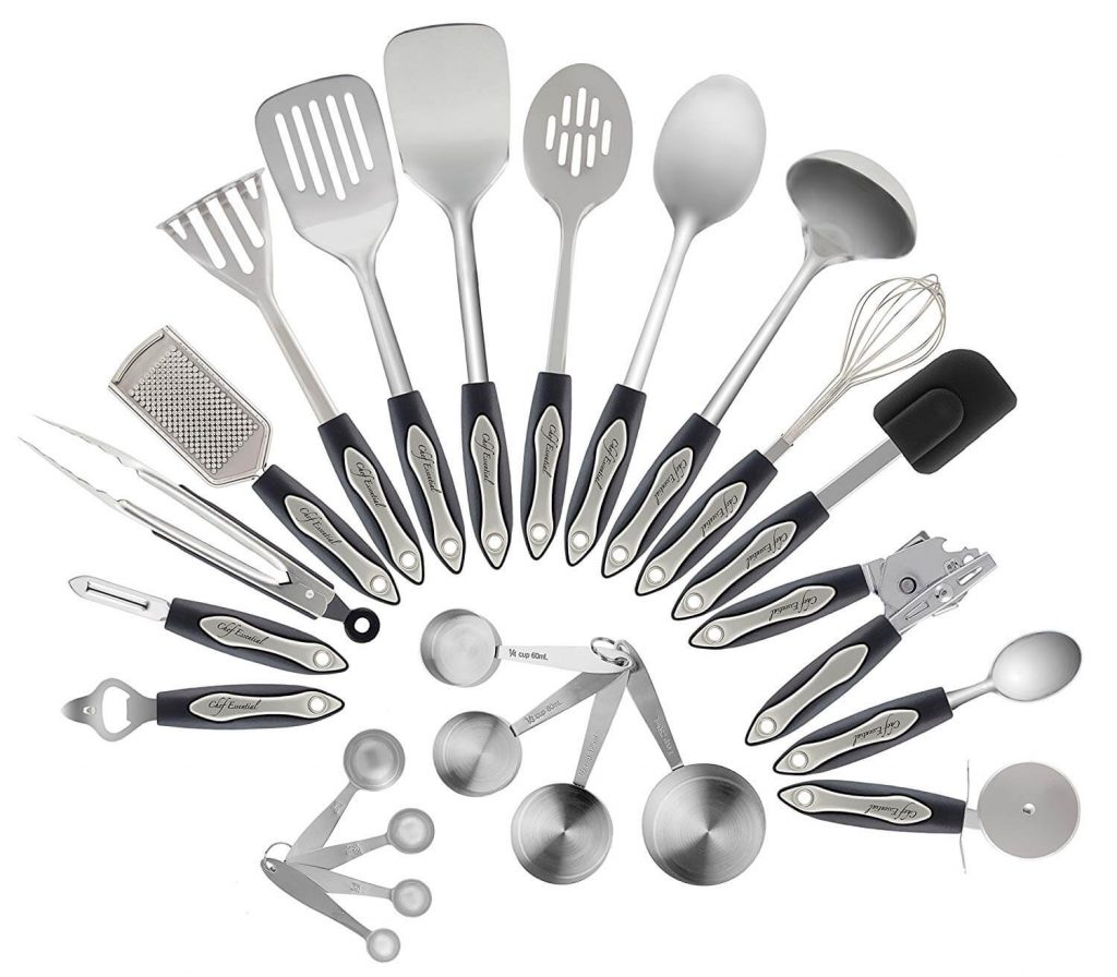 Stainless Steel Kitchen Utensil Set