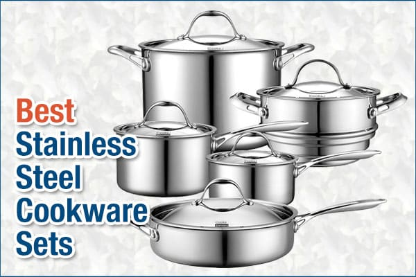Best stainless steel cookware set review