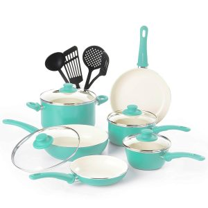 GreenLife CW000531-002 Ceramic Nonstick Cookware Set